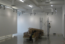 'The Drawing Project' Exhibition Space